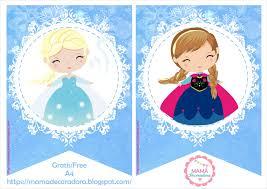 Mama Decoradora Kit Imprimible Frozen Gratis