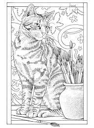 Bol Com Franciens Kattenkleurboek Om Te Versturen Francien Van