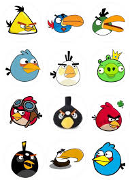 Angry Birds for cupcakes | Plantilla de aves, Cumpleaños angry ...