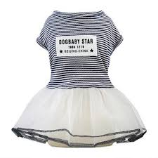 clothes summer dog striped dress dogs
