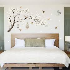 White Blossom Tree Branch Wall Sticker Cherry Blossom Decals Mural Decor In 2020 Vinyl Room Rooms Home Decor Wall Stickers Home Decor