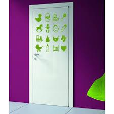 Shop Kids Toys Abc Strller Baby Bottle Cot Wall Art Sticker Decal Green Overstock 11743279