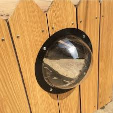 Dog Porthole Window Round Transparent For Fence Pet Peek Look Out Durable Acrylic Dog Dome Backyard House Reduced Bark Houses Kennels Pens Aliexpress