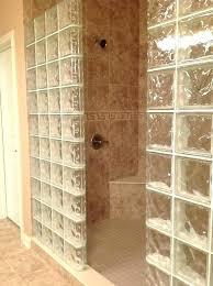 glass block tiles bathroom