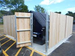 Dumpster Enclosures Gallery Main Line Fence