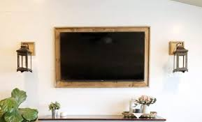 frame your tv a creative way to tech