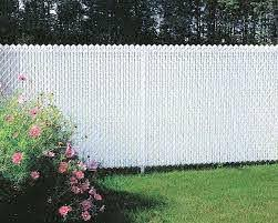 Chain Link Fencing White Inserts Chain Link Privacy Inserts Wallace Fences Chain Link Fence Chain Link Fence Cover Chain Link Fence Privacy