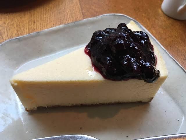 お取り寄せ(楽天) パパジョンズ ブルーベリー チーズケーキ 400g 価格3,002円 (税込)