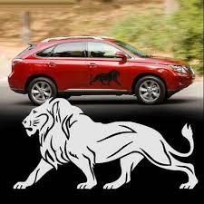 Lion Car Decal Vinyl Graphics Side Stickers Body Door Decals Generic Sticker