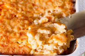 southern soul food baked macaroni and