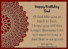 birthday wishes for dad greetings com