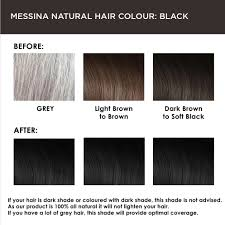 messina natural hair colour cream