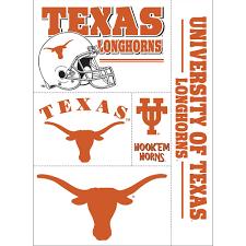 Texas Longhorn State Flag Star Usa College School Custom Window Vinyl Decal