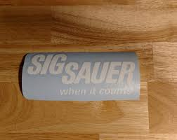 Sig Sauer Decal Etsy