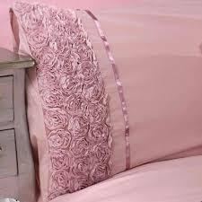 limoges rose ruffle grey uk super king