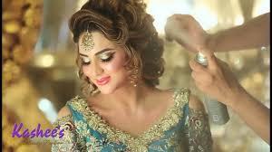 fiza ali in kashees white bridal wear