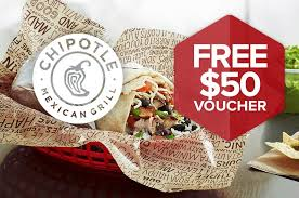 get a free 50 chipotle gift card