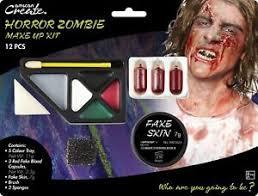 walking dead zombie face paint