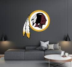 Washington Redskins Logo Wall Decal Egraphicstore
