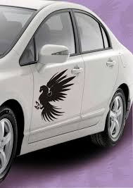 Get This Unique Tribal Angel Car Decal Sticker To Create A Stylish Impression On The Roads Http Www Gloob In D Car Decals Stickers Car Decals Car Stickers