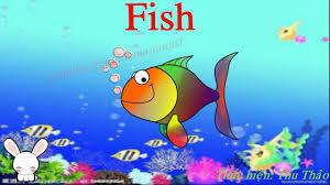 Tiếng Anh cho bé: Dạy bé học các con vật dưới nước bằng tiếng Anh - YouTube