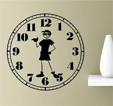 com coolboy o clock shades awesome relax time vinyl wall