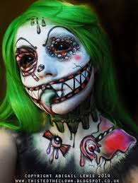 55 scary makeup ideas that