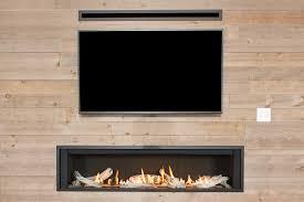 valor l3 large fireplace barn beam wood