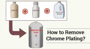 how to remove chrome plating see