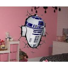 Shop Full Color R2 D2 3d Full Color Decal Star Wars 3d Full Color Sticker Wall Art Sticker Decal Size 33x45 Overstock 14359493
