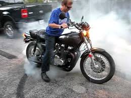 1975 kawasaki z1 900 circle burnout