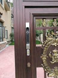 Outdoor Lock Waterproof Gate Locks Fence Gate Electronic Lock