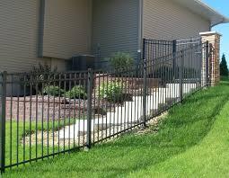 Aluminum Fence On Hills And Slopes Aluminum Fence Supply Store