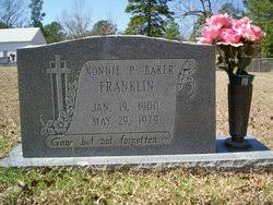 Nonnie Adeline Parker Franklin (1900-1979) - Find A Grave Memorial