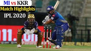 MI vs KKR Match Highlights - IPL 2020 ...