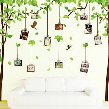 Memory Photo Frame Tree Wall Stickers Diy Family Tree Wall Decal Photo Wallpaper For Sale Online