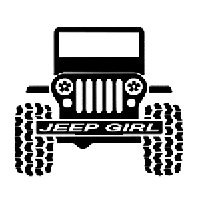 Jeep Girl Die Cut Vinyl Decal Pv1881 Pirate Vinyl Decals