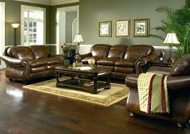 leather sofa with accent chairs