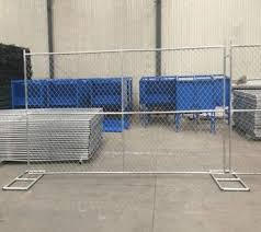 Construction Portable Wire Mesh Fences Mobile Guard Chain Link Fencing Panel Portable Diamond Panel Fences View Construction Chain Wire Panel Fencing Portable Mobile Fence Secure Wire Fencing Temporary Fencing Panels Professional Factory Temporary