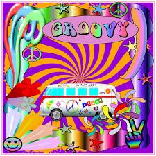 Groovy Hippie Van Peace Sticker U S Custom Tees
