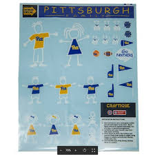 Decals Pittsburgh Family The Pitt Shop