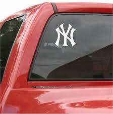 New York Yankees Vinyl Car Truck Decal Window Sticker Ebay