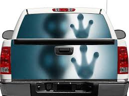 Alien Hand Rear Window Or Tailgate Decal Sticker Pick Up Truck Suv Car