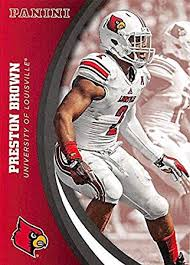 Preston Brown football card (Louisville Cardinals) 2016 Panini Team  Collection #43 at Amazon's Sports Collectibles Store