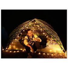 Đèn led dây dài 6m x 40 bóng chiếu sáng- trang trí lều trại và chụp hình