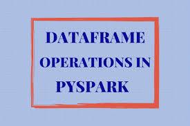 pyspark data frames dataframe