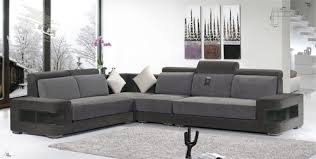 modern tight back designer l shape sofa