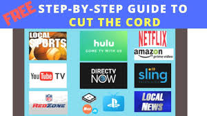How to Watch TV Online with Sling, Hulu Live, YouTube TV and more (Step by  Step Guide) - YouTube