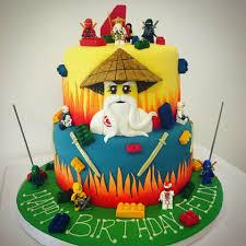 Mr Cake - Lego 'Ninjago' Birthday Cake