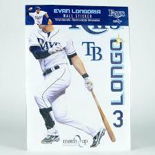 Large Evan Longoria Baseball Wall Sticker Ebth